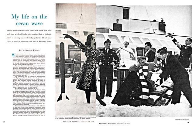 Article Preview: My life on the ocean wave, January 1960 | Maclean's