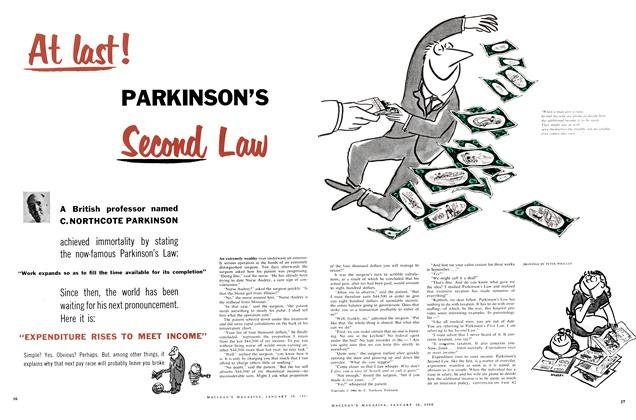 Article Preview: At last! PARKINSON'S Second Law, January 1960 | Maclean's