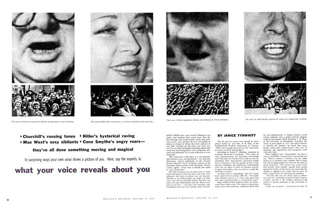 Article Preview: what your voice reveals about you, January 1960 | Maclean's