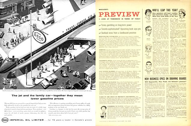 Article Preview: A LOOK AT TOMORROW IN TERMS OF TODAY, January 1960 | Maclean's