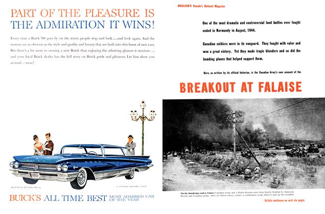 Article Preview: BREAKOUT AT FALAISE, January 1960 | Maclean's