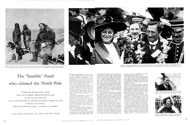 "Article Preview: The ""humble"" fraud who claimed the North Pole, February 1960 