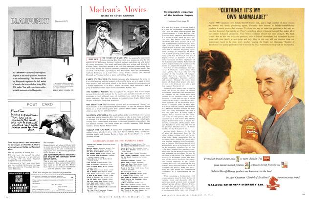 Article Preview: Maclean's Movies, February 1960 | Maclean's
