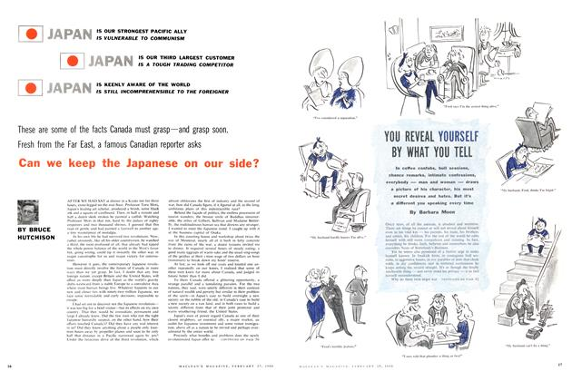 Article Preview: Can we keep the Japanese on our side?, February 1960 | Maclean's
