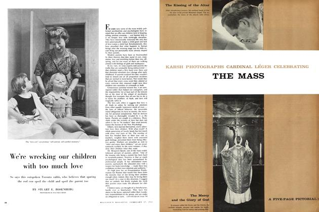 Article Preview: We're wrecking our children with too much love, February 1960 | Maclean's