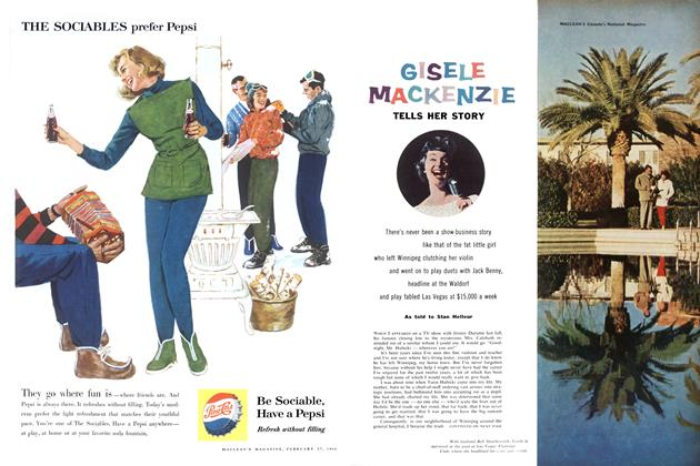 Article Preview: GISELE MACKENZIE, February 1960 | Maclean's