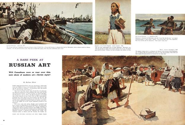 Article Preview: A RARE PEEK AT RUSSIAN ART, March 1960 | Maclean's
