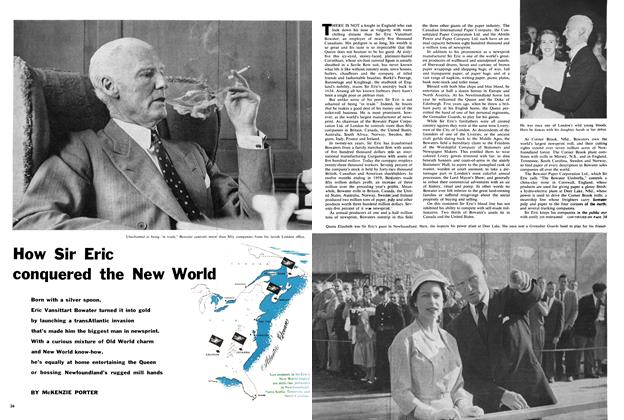 Article Preview: How Sir Eric conquered the New World, March 1960 | Maclean's