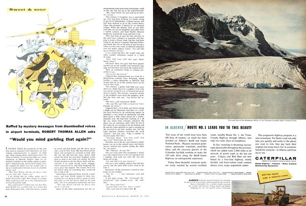 "Article Preview: ""Would you mind garbling that again?"", March 1960 