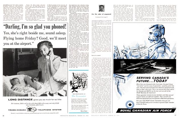 Article Preview: The Economist, March 1960 | Maclean's