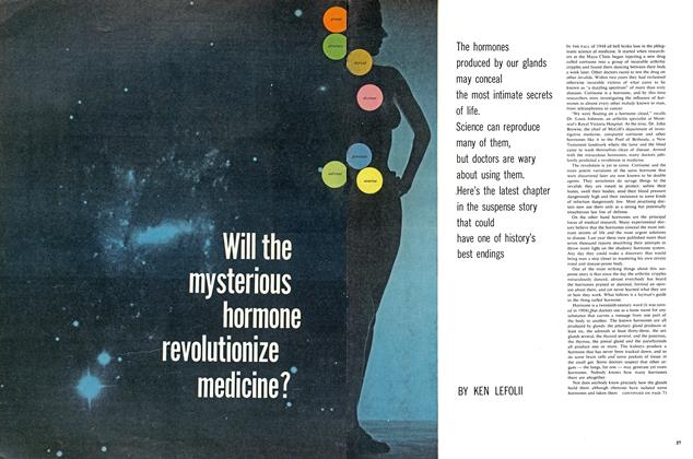 Article Preview: Will the mysterious hormone revolutionize medicine?, April 1960 | Maclean's