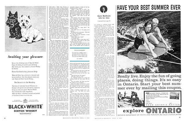 Article Preview: TOUGH SLEDDIN', April 1960 | Maclean's