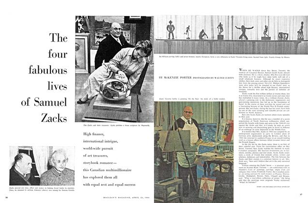 Article Preview: The four fabulous lives of Samuel Zacks, April 1960 | Maclean's