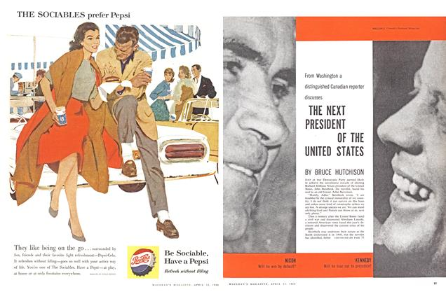 Article Preview: THE NEXT PRESIDENT OF THE UNITED STATES, April 1960 | Maclean's