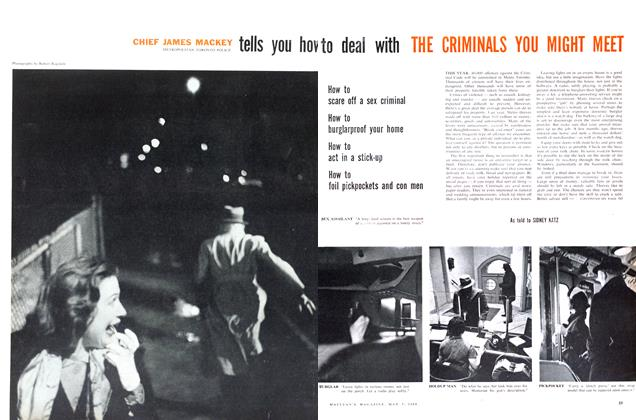 Article Preview: tells you how to deal with THE CRIMINALS YOU MIGHT MEET, May 1960 | Maclean's