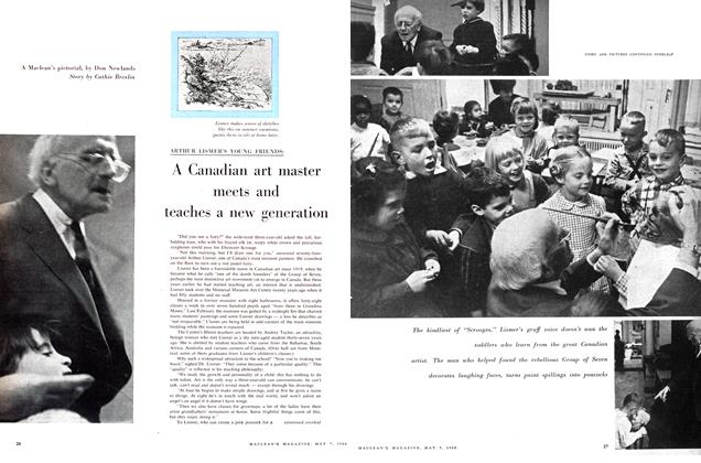 Article Preview: A Canadian art master meets and teaches a new generation, May 1960 | Maclean's