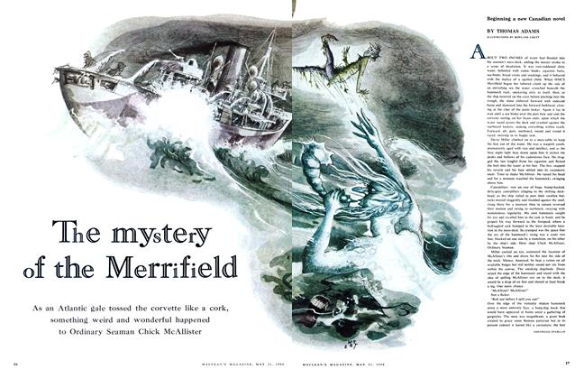 Article Preview: The mystery of the Merrifield, May 1960 | Maclean's