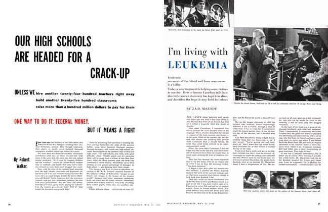 Article Preview: OUR HIGH SCHOOLS ARE HEADED FOR A CRACK-UP, May 1960 | Maclean's