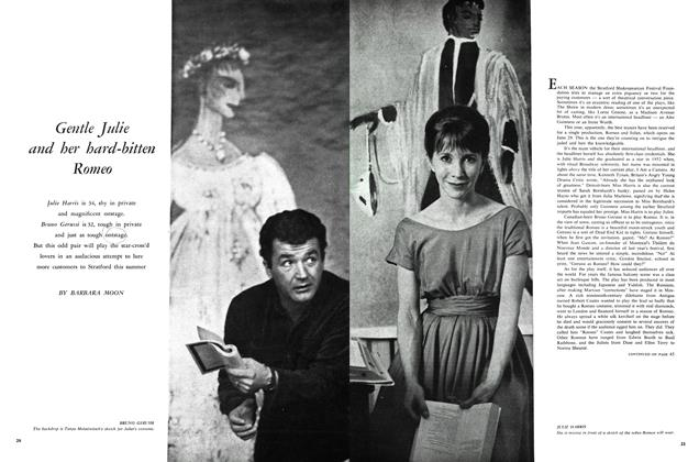 Article Preview: Gentle Julie and her hard-bitten Romeo, June 1960 | Maclean's