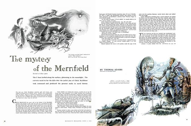 Article Preview: The mystery of the Merrifield, June 1960 | Maclean's
