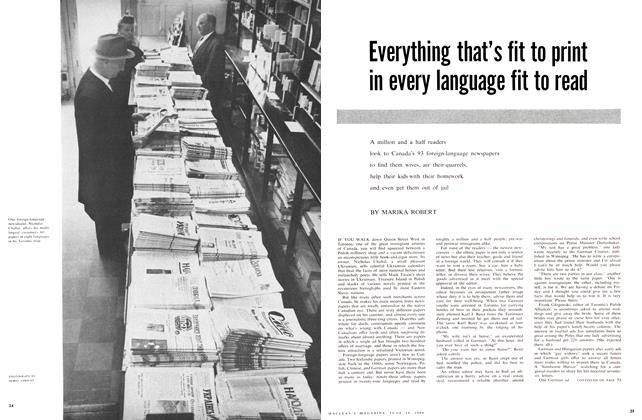 Article Preview: Everything that's fit to print in every language fit to read, June 1960 | Maclean's