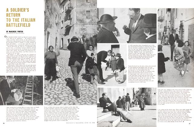 Article Preview: A SOLDIER'S RETURN TO THE ITALIAN BATTLEFIELD, June 1960 | Maclean's