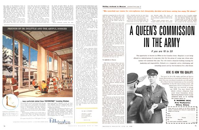 Article Preview: TO BE CANDID, June 1960   Maclean's