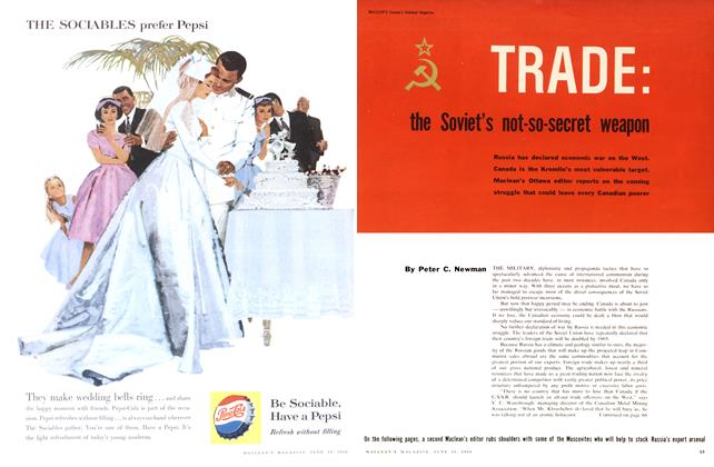 Article Preview: TRADE: the Soviet's not-so-secret weapon, June 1960 | Maclean's