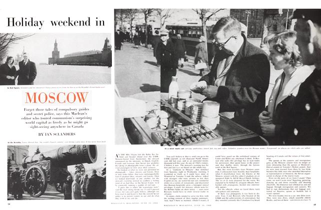 Article Preview: Hliday weekend in MOSCOW, June 1960 | Maclean's
