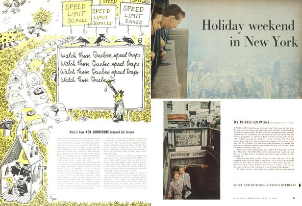 Article Preview: Holiday weekend in New York, July 1960 | Maclean's