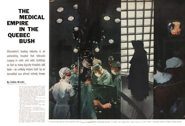 Article Preview: THE MEDICAL EMPIRE IN THE QUEBEC BUSH, July 1960 | Maclean's
