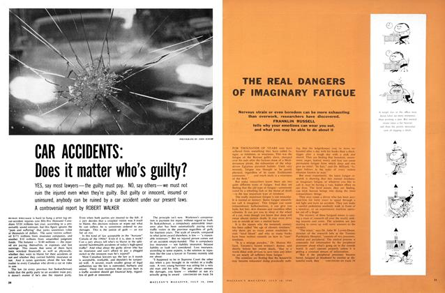 Article Preview: CAR ACCIDENTS: Does it matter who's guilty?, July 1960 | Maclean's
