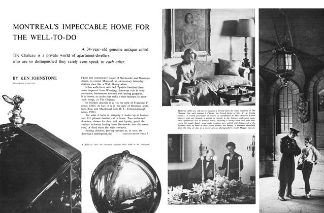 Article Preview: MONTREAL'S IMPECCABLE HOME FOR THE WELL-TO-DO, July 1960 | Maclean's