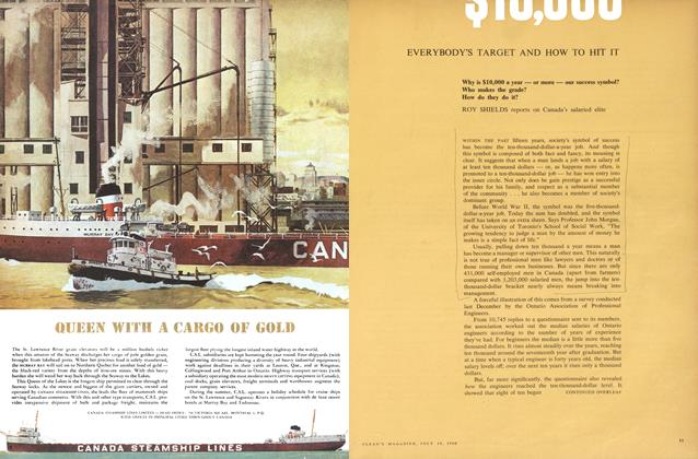Article Preview: $10,000 EVERYBODY'S TARGET AND HOW TO HIT IT, July 1960 | Maclean's