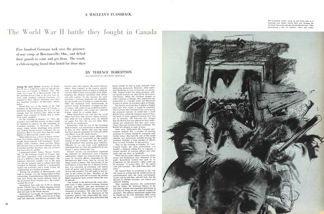 Article Preview: The World War II battle they fought in Canada, August 1960 | Maclean's