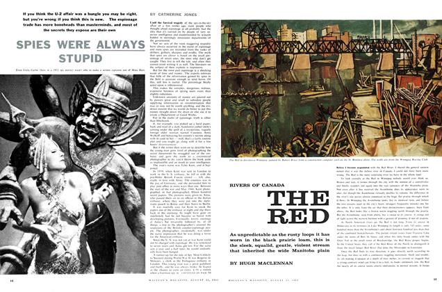 Article Preview: SPIES WERE ALWAYS STUPID, August 1960   Maclean's