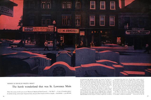 Article Preview: The harsh wonderland that was St. Lawrence Main, August 1960 | Maclean's