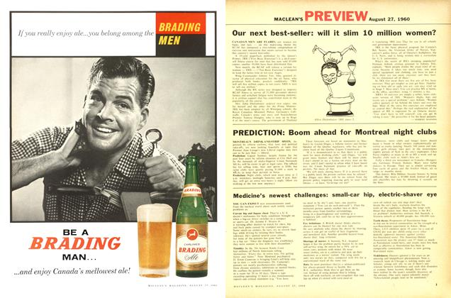 Article Preview: Our next best-seller: will it slim 10 million women?, August 1960 | Maclean's