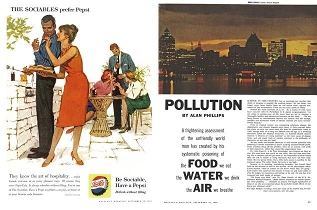 Article Preview: POLLUTION, September 1960 | Maclean's