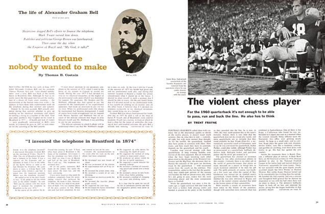 Article Preview: The violent chess player, September 1960 | Maclean's