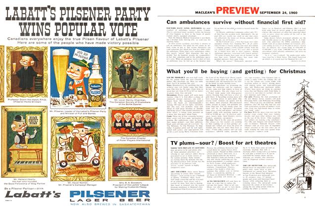 Article Preview: What you'll be buying (and getting) for Christmas, September 1960 | Maclean's