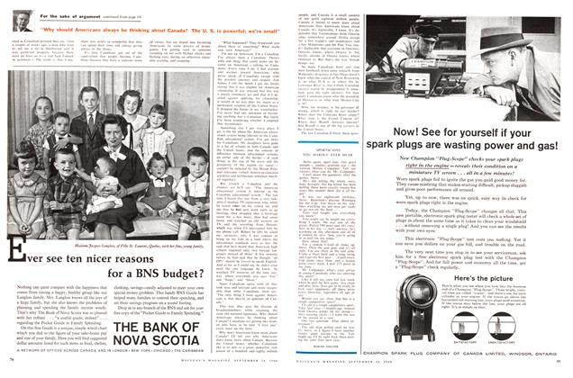 Article Preview: SPORTSCASTS, September 1960 | Maclean's