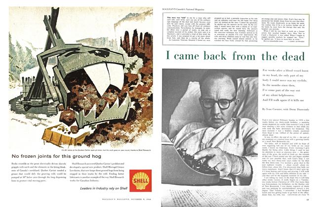 Article Preview: I came back from the dead, October 1960 | Maclean's