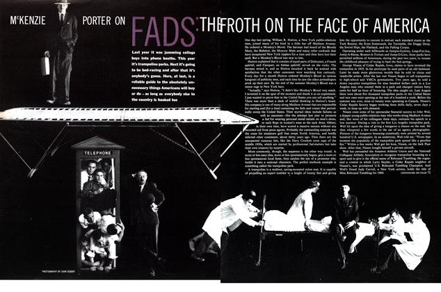 Article Preview: FADS: THE FROTH ON THE FACE OF AMERICA, November 1960 | Maclean's