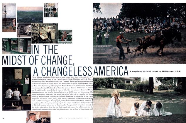 Article Preview: IN THE MIDST OF CHANGE, A CHANGELESS AMERICA, November 1960 | Maclean's