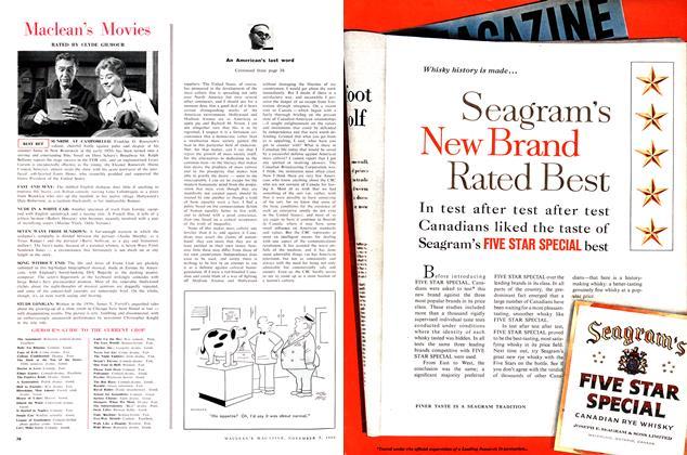 Article Preview: Maclean's Movies, November 1960 | Maclean's