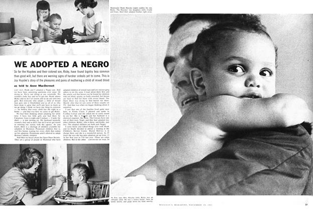 Article Preview: WE ADOPTED A NEGRO, November 1960 | Maclean's