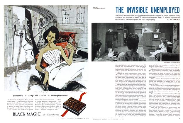 Article Preview: THE INVISIBLE UNEMPLOYED, November 1960 | Maclean's