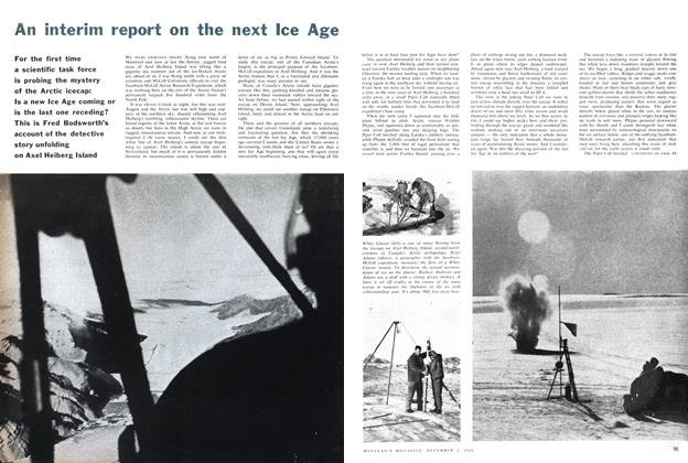 Article Preview: An interim report on the next Ice Age, December 1960 | Maclean's