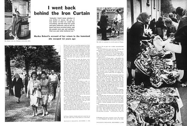 Article Preview: I went back behind the Iron Curtain, December 1960 | Maclean's